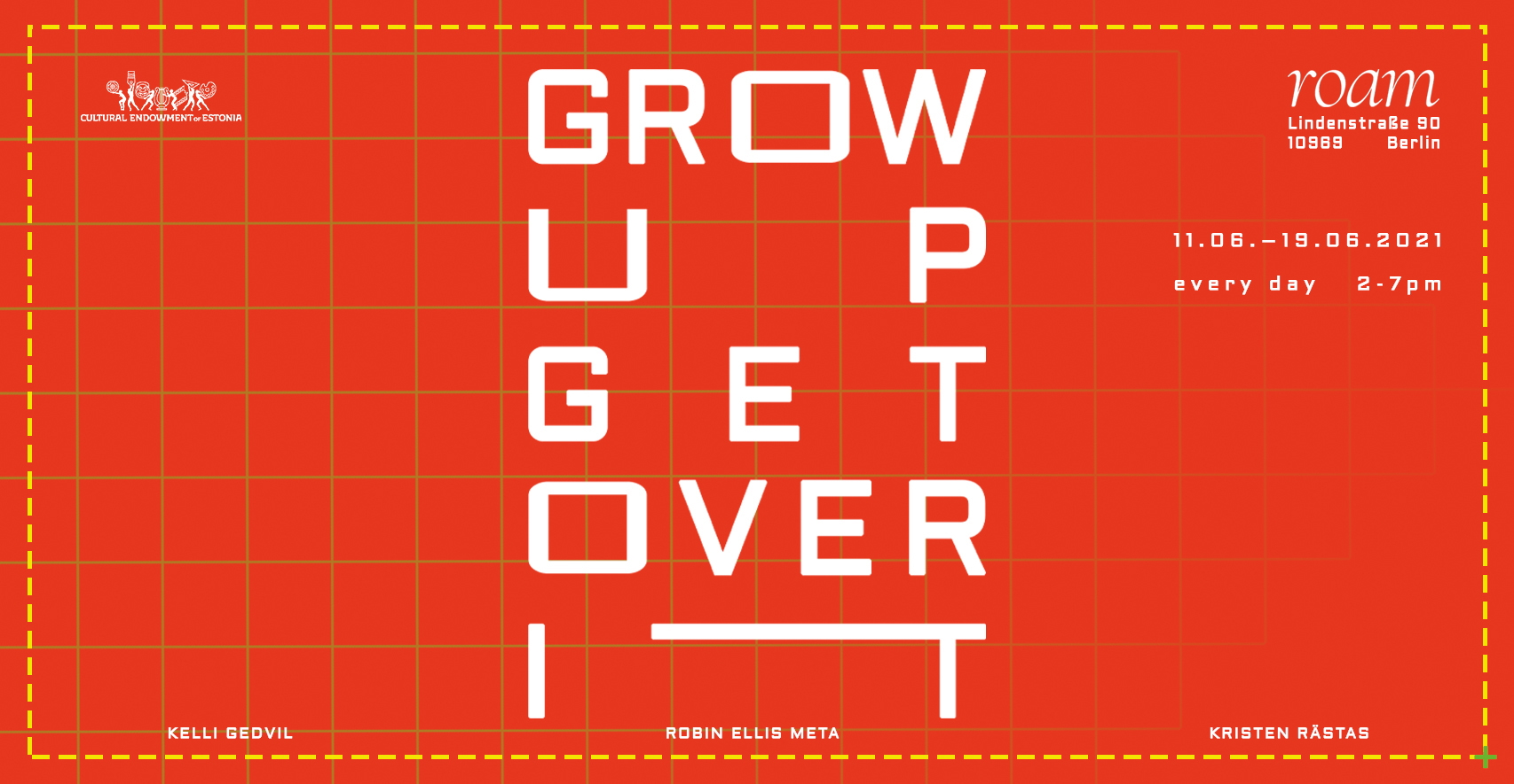 Grow Up Get Over It poster